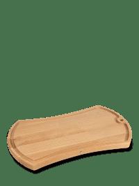OVALE - Planche à découper deux faces en bois massif 39,5cm