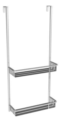 COPERBLINK - Etagère de douche chromé brossé
