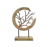 BODHI - Porte bijoux décoratif  Naturel 34x9x46 cm