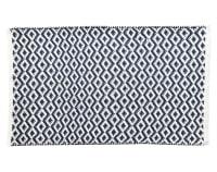NAMATA - Tapis de bain bleu 50x80 en coton