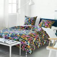 SASHI - Housse de couette imprimée en coton multicolore 260x240