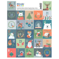 TIMBRES - 27 stickers timbres de Noël