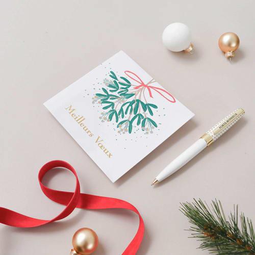 Noël Unique Argent Porte Carte Cadeau Bon comprend ENVELOPPE 4 Designs