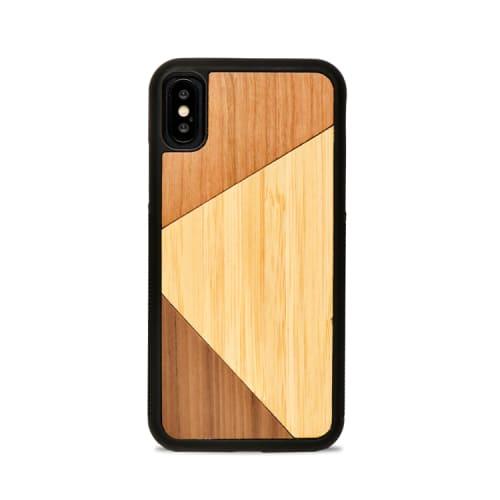 TRIO - Coque en bois pour iPhone 7/8/SE2020   Maisons du Monde
