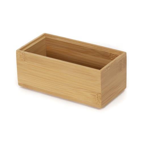 Boite De Rangement En Bambou 15x7 5cm Maisons Du Monde