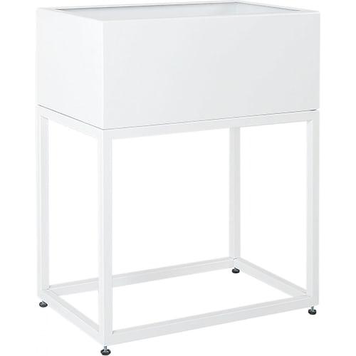 * vente 35 cm Fiori Algarve Blanc JARDINIERE//contemporain pot de fleur//Maison et Jardin